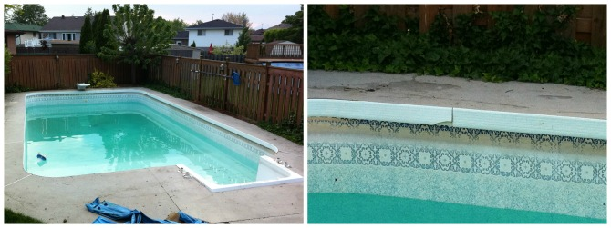 Before Pool Collage